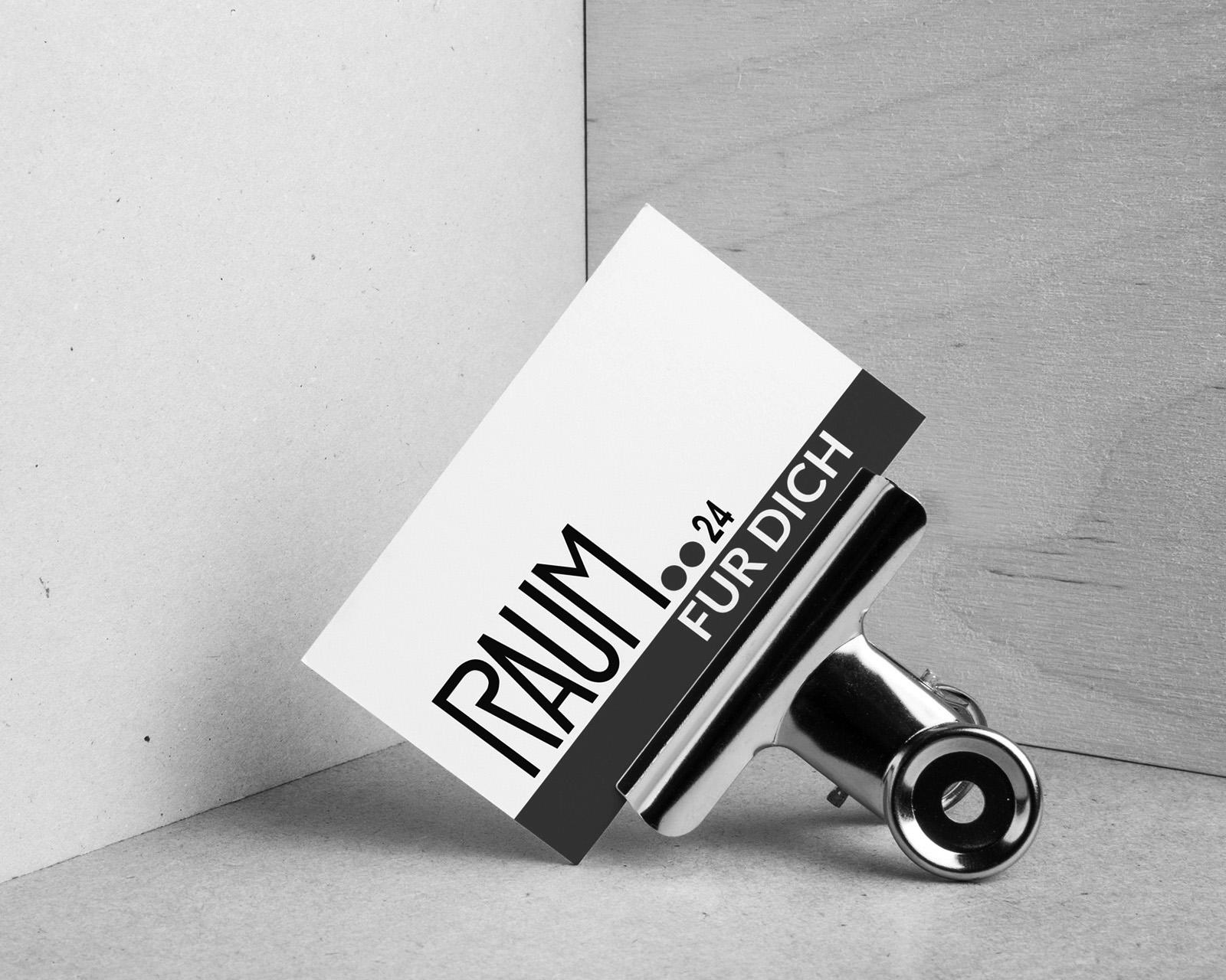 Logo, Printmedien, Hompage – RAUM24