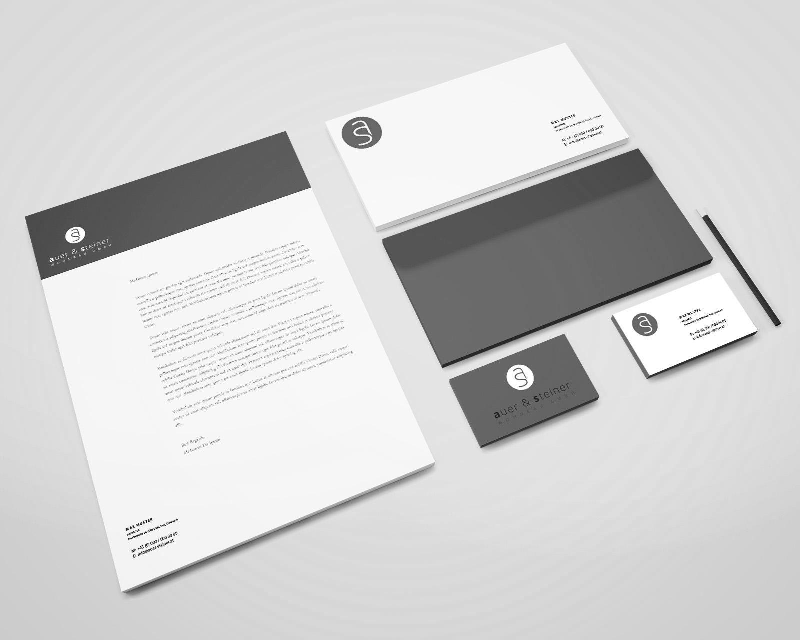 Branding AUER & STEINER Wohnbau